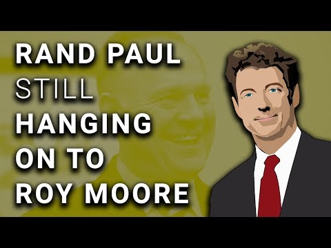 RNC & Every Senator EXCEPT Rand Paul Pull Out of Roy Moore
