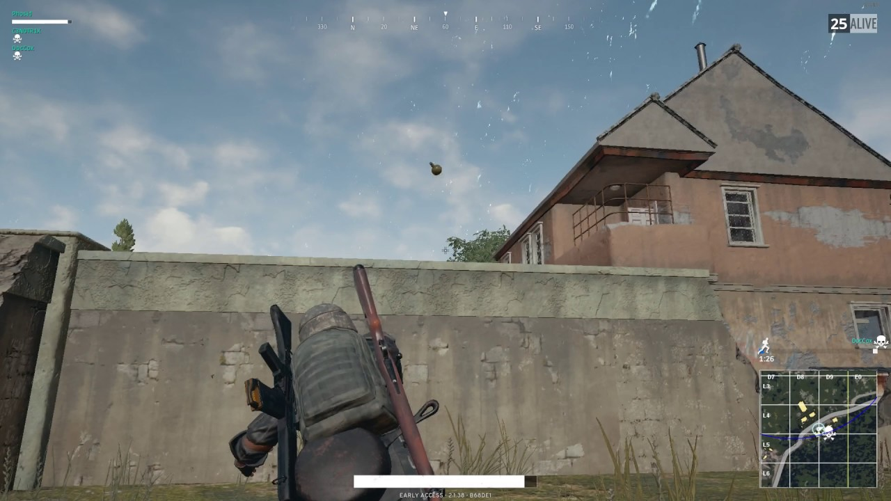 pubg how to cook grenades
