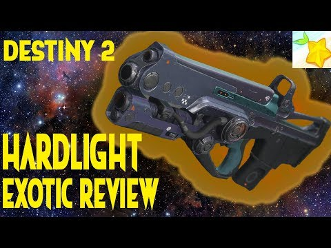 Destiny 2: HARDLIGHT exotic auto rifle review!!!! My new favorite auto rifle!!!!
