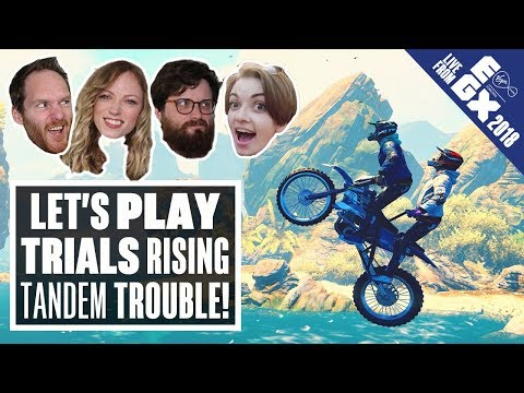 Let's Play Trials Rising - LIVE FROM EGX 2018