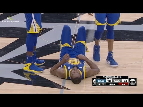 Golden State Warriors vs San Antonio Spurs Game Highlights / Game 3 / 2018 NBA Playoffs