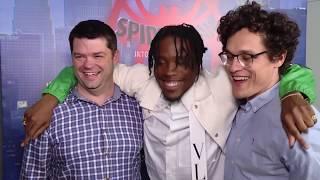SPIDER-MAN INTO THE SPIDER-VERSE Interview - Chris Miller, Phil Lord & Shameik Moore
