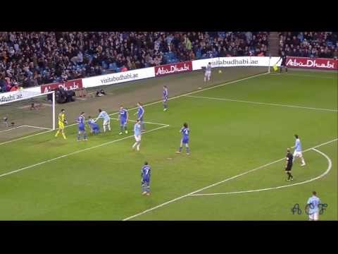 Gary Cahill vs Manchester City FC 13-14 [720p HD]
