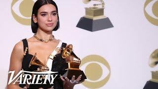 Dua Lipa - 2019 Grammys Best New Artist - Full Backstage Speech