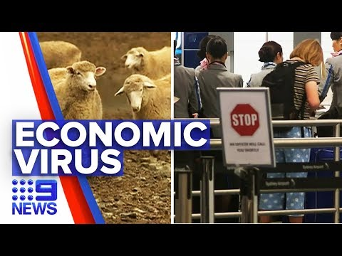 Australian Economy Impacted By Virus Fears | Nine News Australia