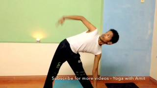 Yoga Stretches for Beginner - Yoga in Office - Yoga with Amit