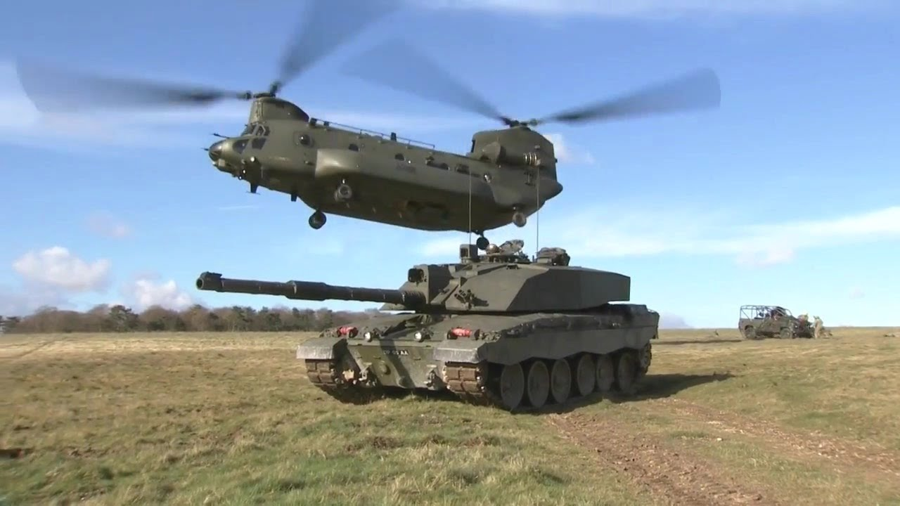 chinook carrying tank with Watch on Air assault additionally 457467274625305359 further Viewtopic furthermore  together with 34036 Mil Mi 26t2 Halo Vs Boeing Ch47f Chinook 8.
