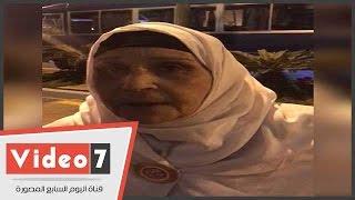 شاهد سيدة بنى سويف التى أشعلت حماس احتفالية المرأة المصرية بحضور السيسى