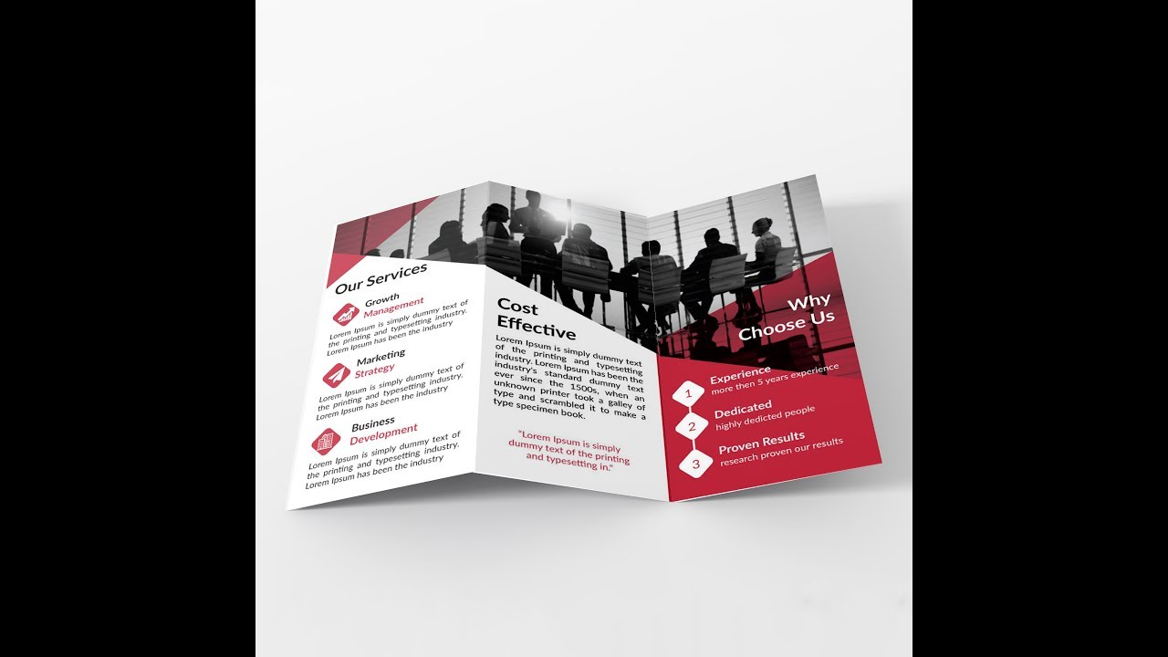 How to make Tri fold Brochure Layout in Adobe Illustrator  Bangla     How to make Tri fold Brochure Layout in Adobe Illustrator  Bangla