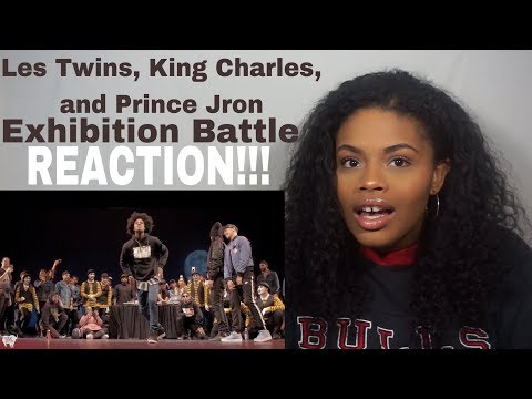 Les Twins, King Charles, and Prince JRon Exhibition Battle // REACTION!!!
