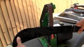 Knife Sharpening Harbor Freight Belt Sander/ Sharpening Tool