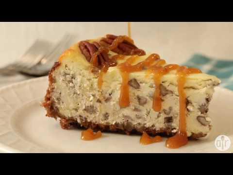 How to Make Butter Pecan Cheesecake   Dessert Recipes   Allrecipes.com