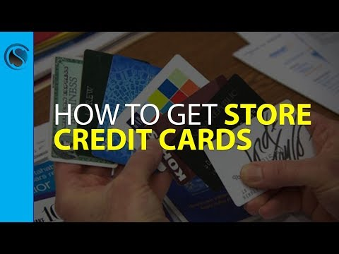 Periscope... How to Get Store Credit Cards with No Credit Ch