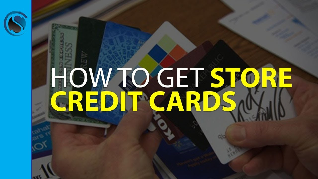 No Credit Check Credit Cards >> How To Get Store Credit Cards With No Credit Check