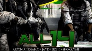 Aidonia Ft. Deablo, Jayds, Size 10 & Shokryme - All 14 - Feb 2013
