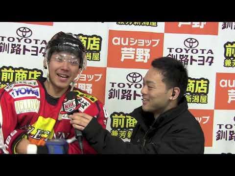 アスリートイン小松2Gの活躍、SK釧路江南OBに代わりリーグ首位に立つ!