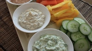 Dairy-free Dips - Onion, Spinach, And Spicy