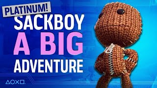 Sackboy: A Big Adventure - Plati-Monday!