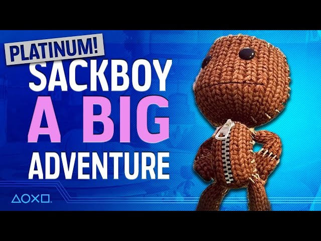 Sackboy: A Big Adventure - Plati-Monday!