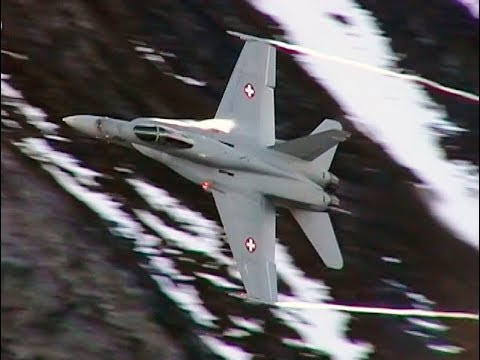 Fast Jets And More In Swiss Alps - AIRSHOW WORLD