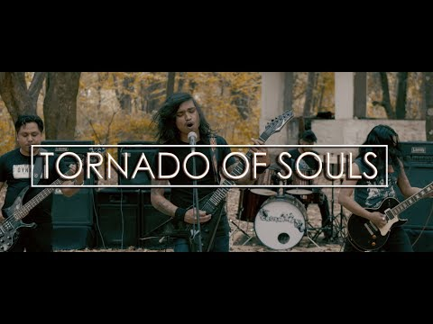 Crush'em - Tornado of souls (Megadeth cover) - Official Music Video