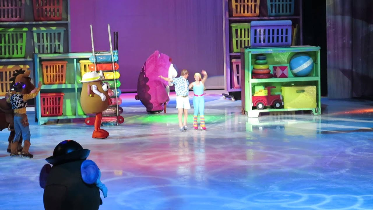 Disney On Ice Worlds Of Fantasy Toy Story 3 Woody Youtube