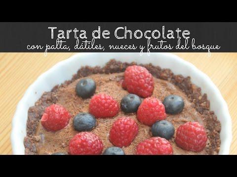 Tarta de Chocolate sin horno y sin harina