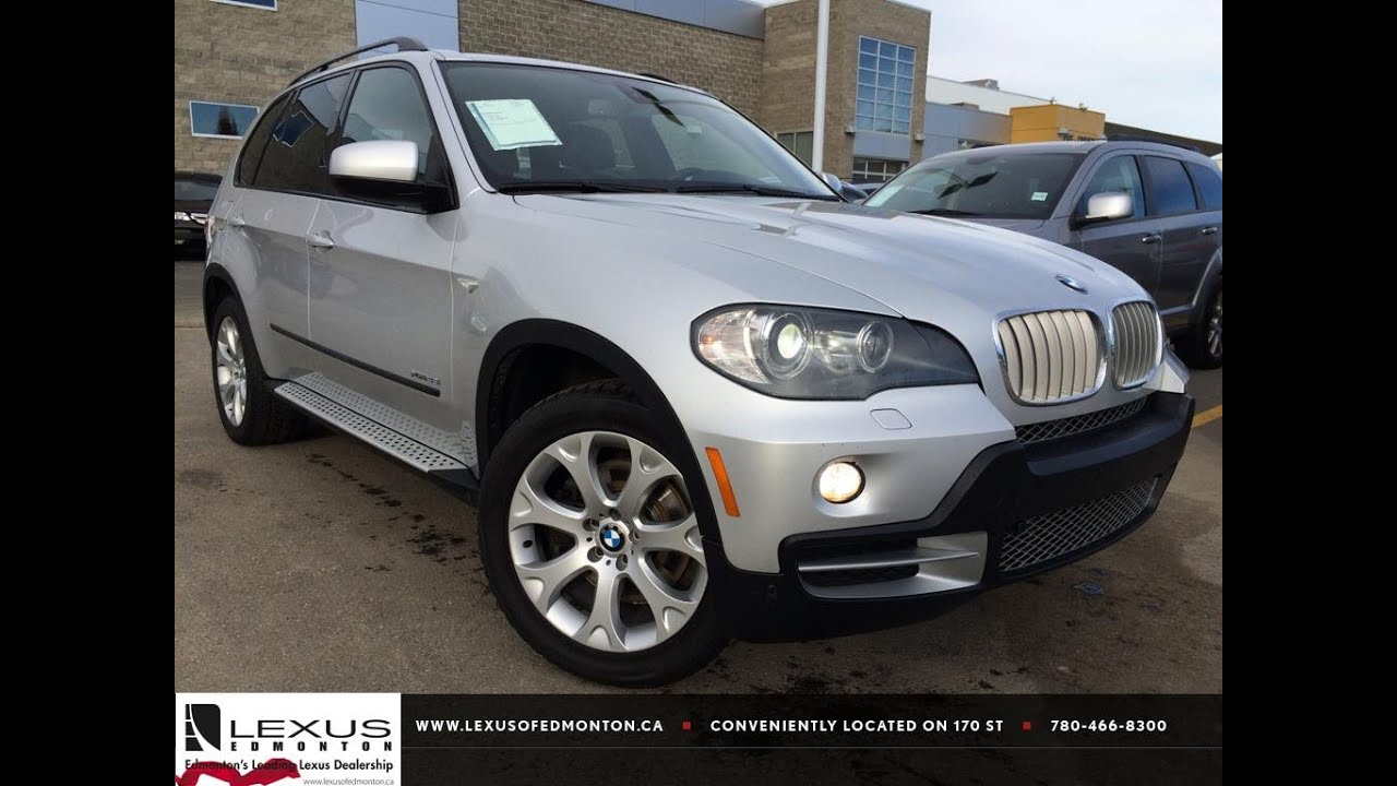 pre owned silver 2009 bmw x5 awd 48i review | grande cache alberta