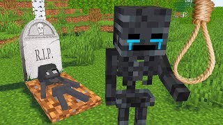 Monster School : SORRY WITHER GIRL CHALLENGE - Minecraft Animation