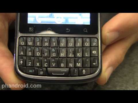 Motorola Droid Pro for Verizon Hands-on Impressions