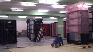 "Assembling of Cray XT5 ""Monte Rosa"" at CSCS (10 minutes movie)"