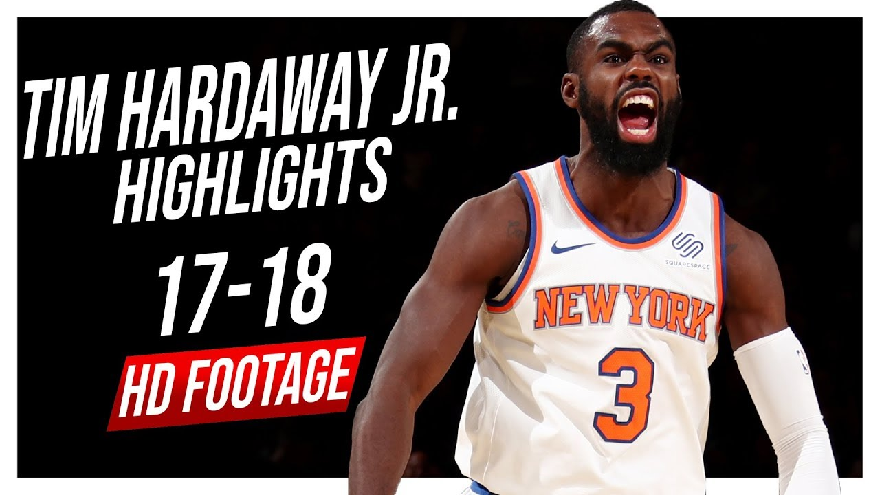 wholesale dealer c207f 6f607 Knicks SG Tim Hardaway Jr. 2017-2018 Season Highlights ᴴᴰ