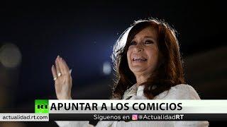 Argentina Cristina Kirchner anuncia que sera candidata a vicepresidenta de Alberto Fernand ...