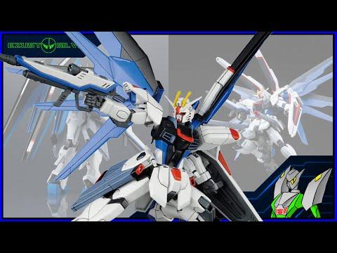 Anime Figura Bemutató - Freedom Gundam