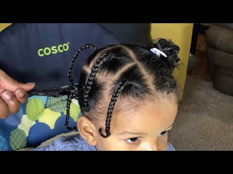 toddler-boy-hairstyles-04- -large-box-braids- -#toddlerhairstyles-#boyhairstyles-#cantu-#curlyhair