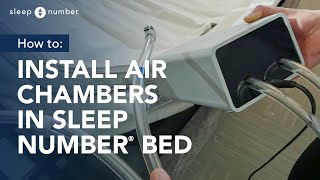 How To Install Air Chambers In Your Sleep Number Bed