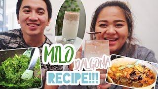 Dalgona Milo Recipe!  CURHAT &amp MASAK2  vlog #443