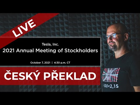 TESLA 2021 ANNUAL SHAREHOLDERS MEETING