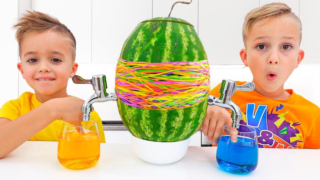 व्लाद और निकी माँ के साथ मज़ा है - खिलौने के साथ बच्चों के वीडियो संग्रह