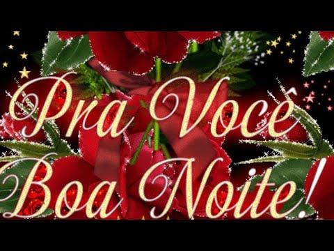 Linda Mensagem De Boa Noite Flores Alegria E Bom Descanso