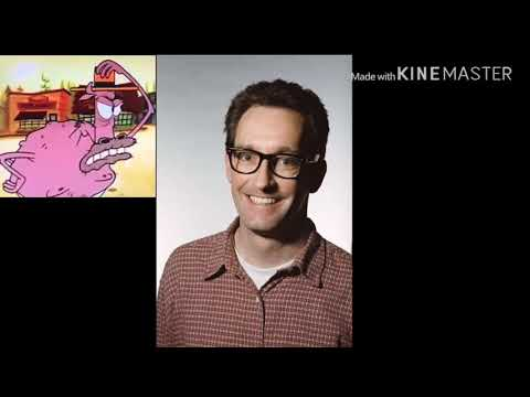 Tom Kenny As The Scoutmaster Cow From Camp Lazlo Final Episode