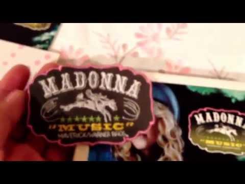 Madonna - Music Taiwan Limited Edition Box SCGJPPMML