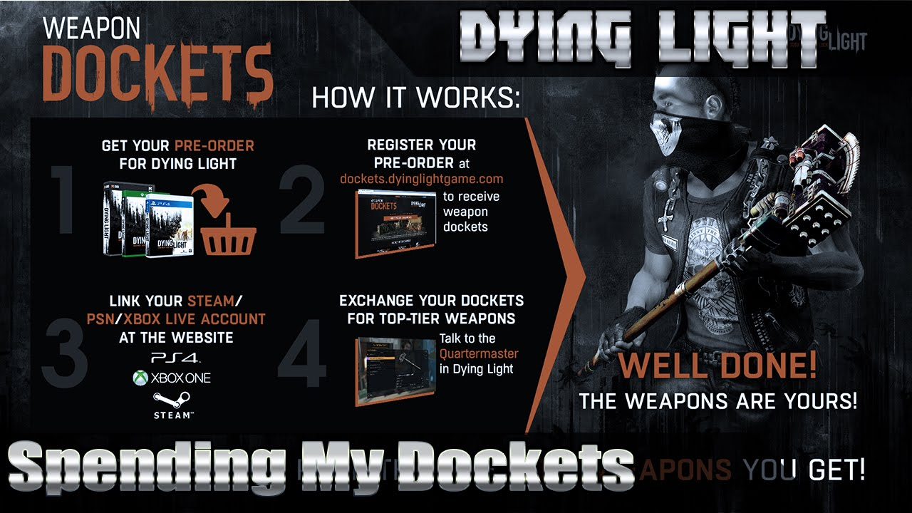 Free Dying Light Dockets