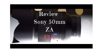 Review Sony 50mm Planar ZA F1.4