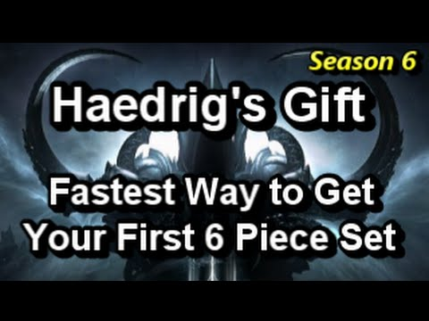 Haedrig's Gift Fastest Way to Get Your First 6 Piece Set in Season ...