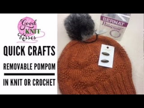 5dca190bd Add Removable Pom Poms to any hat (REPLAY)