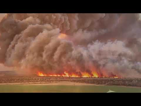 Rhea Fires Northwest Oklahoma 2