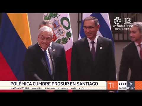 Nace Prosur Tras Cumbre En Santiago