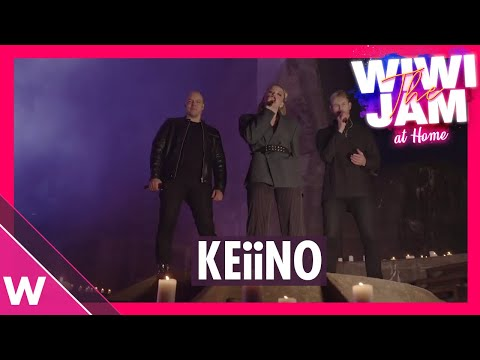 KEiiNO (Norway Eurovision 2019, MGP 2021)  ?Spirit In The Sky? & ?Monument?   Wiwi Jam at Home