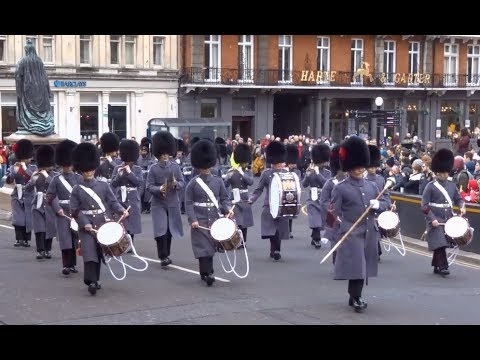 Changing the Guard at Windsor Castle - Saturday the 10th of February 2018